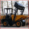 3tons 4wd hydraulic site dumper truck with autoload