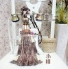 DZ0006 Fashionable decorative tassels for curtains