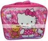 High Quality Nylon Cartoo Cut Kitty Lunch bag S11