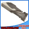 Micro grain carbide wood end mills