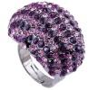 crystal stone rings