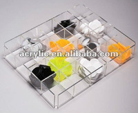 Promotional acrylic/plexiglass Jewellry display tray