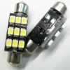 festoon Glove Box lighting 5050 SMD super bright LED bulbs with C5W Base