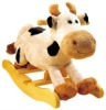 plush rocking cow