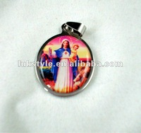 Fashion necklace stainless steel pendant Jesus style