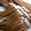 Wholesale 2011 News Beauty PU weft, skin weft,100%Brazilian remy tape hair extension