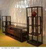 Living room wooden furniture / Solid wood Corner Cabinet