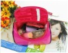 women's practical cosmetic bag case with mirror (QYCB-004)