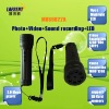 Photo Video Sound Recording 8pcs Highlight LED Flashlight Camera