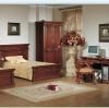 American simple style Chestnut brown color Children bedroom sets furniture XY-2805