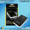 6600mAh Universal Protable External Power Bank Station for The New iPad/ iPad2/ iPhone 4/ cell phone/ Tablet PC/ PSP