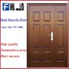 High Quality Powder coating steel security door TF-098
