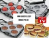 burger press ( Cast Aluminum burger press, Burger maker, grill press, Burger patties maker, Roasting pan, Roast, bakeware)