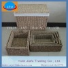 Rectangle 100% handmade weaving large & small seagrass laundry hamper