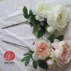 wholesale cheap artificial peonies for wedding and home decoration