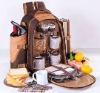 1&2 2012 High Capacity And Fashionable Polyester 4 Persons' Camping Picnic Bag With Carpet
