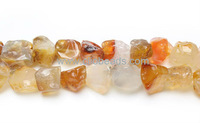 Natural Carnelian Nugget Beads