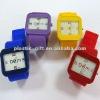 new watch square silicone odm watch quartz