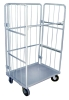 movable wire mesh storage cage