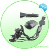 All in One AC and Car Travel Charger Kit for iPhone
