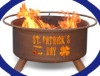 St. Patrick's Day outdoor fire pits set