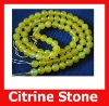 76pcs/Lot,Faceted Yellow Agate Gemstone Ball,Semi Precious Gemstone And Beads