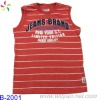 wholesale sports fashion sleeveless T-shirts for men
