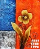 2012 Wholesale Handmade Flower Oil Painting