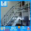 high stength steel ball-joint column guard rails