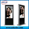 55 inch free standing network advertising