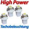 Xenon WeiBe High Power SMD LED Tacho Beleuchtung VW Golf III 3 - White Wit