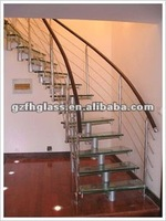 hot sell 5-22mm staircase railing tempered glass with EN12150&BS6206&AS/NZS2208&CCC