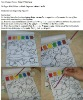 Hot Novelty Children drawing toy Magic Paint with water coloring book