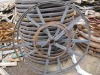 parts of steel wooden cable spool