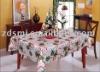Polyester Christmas table cloth