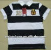 2012 fashion 100% cotton colorfull polo shirts for kids,striped kids polo t-shirt