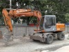 HITACHI EX100 WHEEL EXCAVATOR