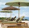 wooden beach chair outdoor furniture (DU-1)