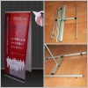 German style L banner stand,Double Side L Banner Stand