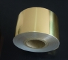 Gold Aluminum Foil Paper 6 mic foil can be customized with printing