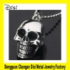 361L Stainless Steel Chain Necklace,Fashion Skull Heads Pendant Necklace Accessories