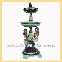 Bronze Garden Mermaid Fountain Statues