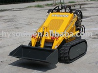 Mini digger with track
