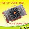 Radeon HD6770 DDR5 PCI-E Graphics Card