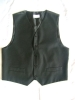 100% Polyester waistcoat with woven material