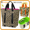 2013 latest fashion zebra printing canvas tote