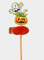 Halloween spirit festival drinking straw