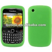 2012 fashionable design mobile phone silicone case for phonr bb 8520