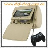 7 inch car headrest dvd + LCD monitor