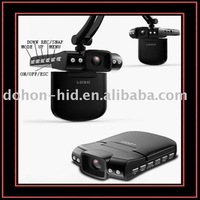 Nitht Vision Car Camera Recorder with 120 degree wide angle